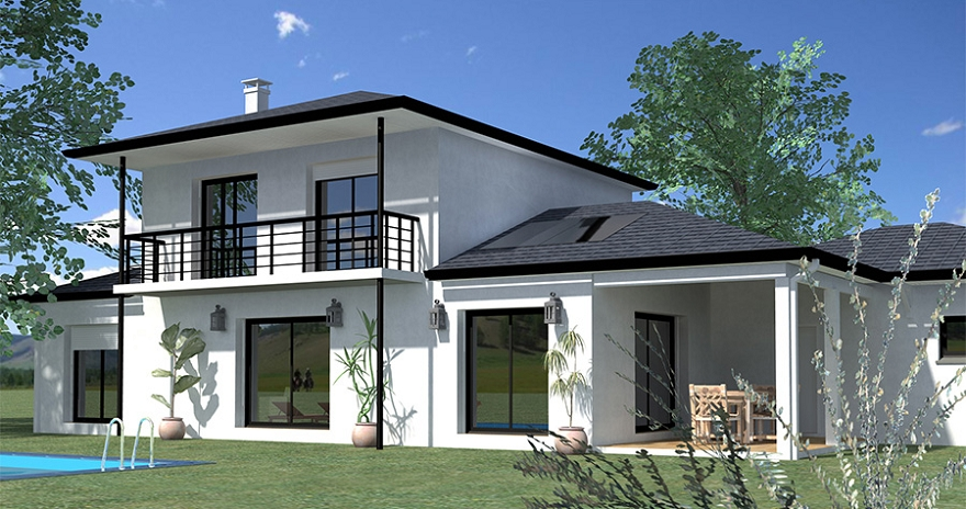 Modele Maison Contemporaine Construction Maison Moderne Gt ...
