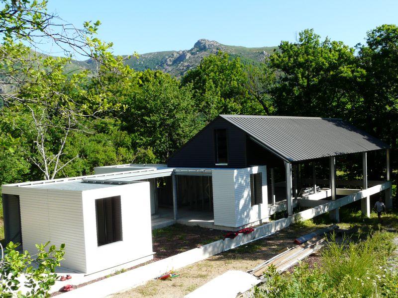 univers maison contemporaine ossature metallique - Plan Maison Structure Metallique