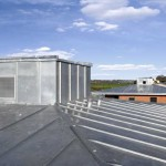 maison contemporaine toiture zinc