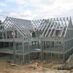 maison individuelle ossature metallique