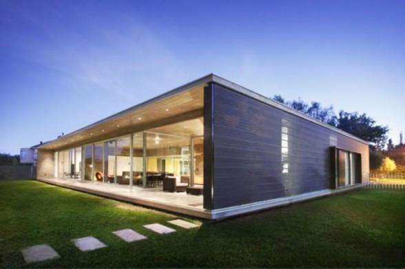 Beautiful Maison Moderne Cubique Pictures - Sledbralorne.com ...