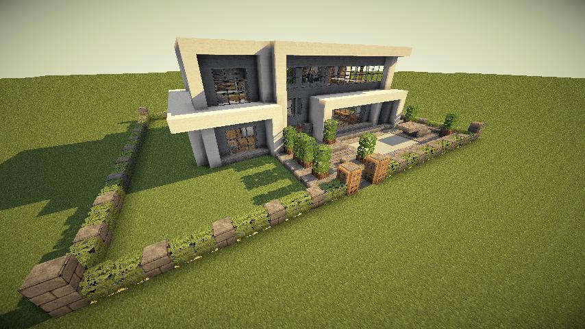 Jolie Maison Moderne Minecraft