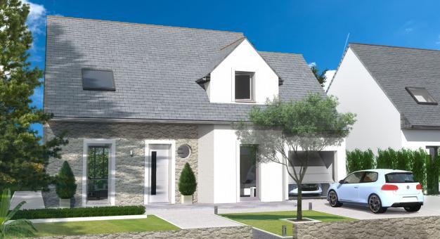 Maison moderne originale for Maison moderne 2015