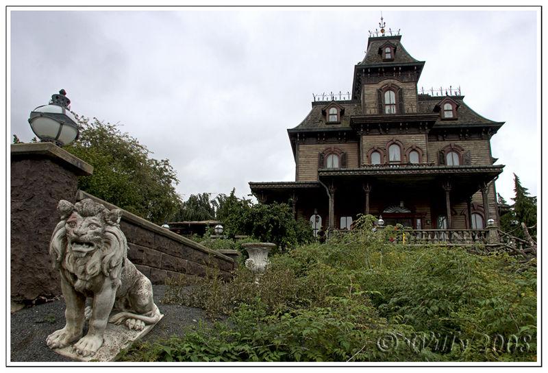 Photo de maison hantee disneyland paris - La maison hantee paris ...