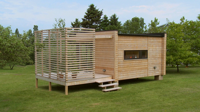 Chalet bois mobile for Maison en bois mobile