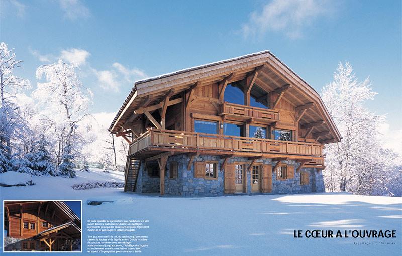 Chalet bois montagne for Prix construction chalet bois montagne