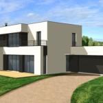 image maison moderne