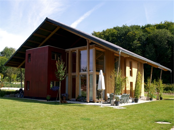 Maison architecte en bois for Maison en bois image