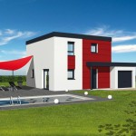 maison contemporaine sans toit