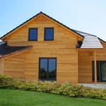 maison individuelle ossature bois