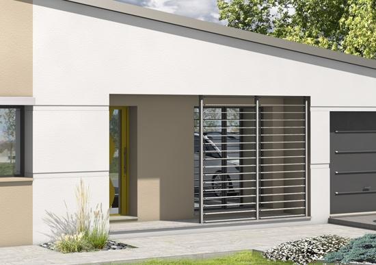 photo de maison toiture bac acier. Black Bedroom Furniture Sets. Home Design Ideas