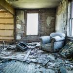 image maison abandonnée