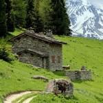 image maison montagne