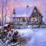 image maison noel