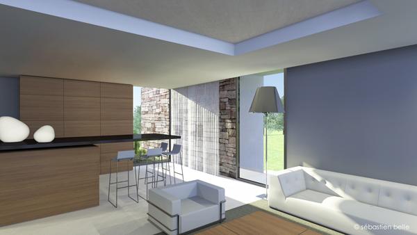 Maison architecture interieur for Architecture maison interieur