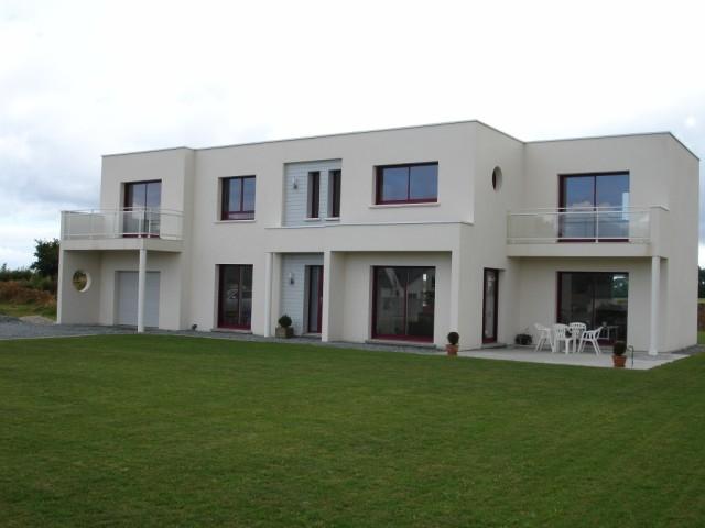 tendance maison contemporaine toit terrasse