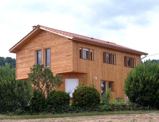 Maison individuelle bois for Maison individuelle en bois