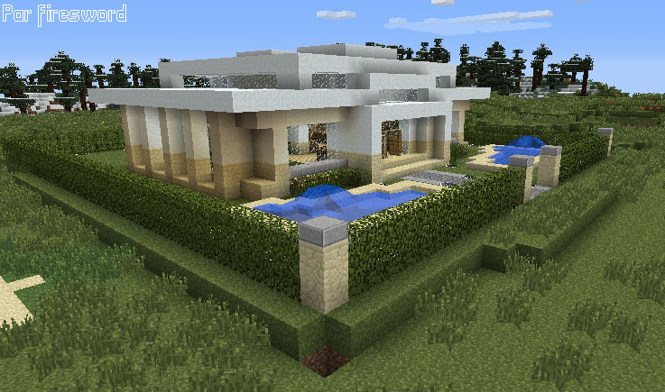 Awesome Maison De Luxe Moderne Minecraft Ideas - Amazing House ...