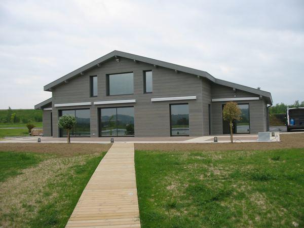 Moderne grise - Maison contemporaine grise ...