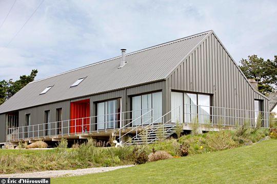 Maison moderne hangar - Maison hangar metallique ...