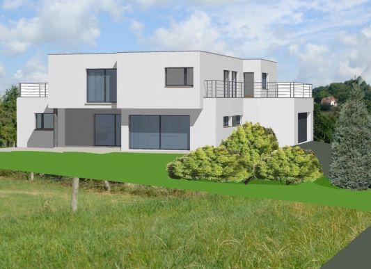 Photo de maison a toit plat for Idee maison toit plat
