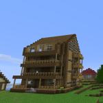 photo de maison minecraft
