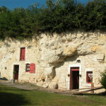 photo de maison troglodyte