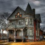 image maison hantée