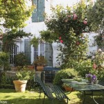 image maison jardin