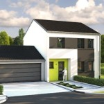 maison contemporaine garage double