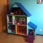 maison en bois barbie