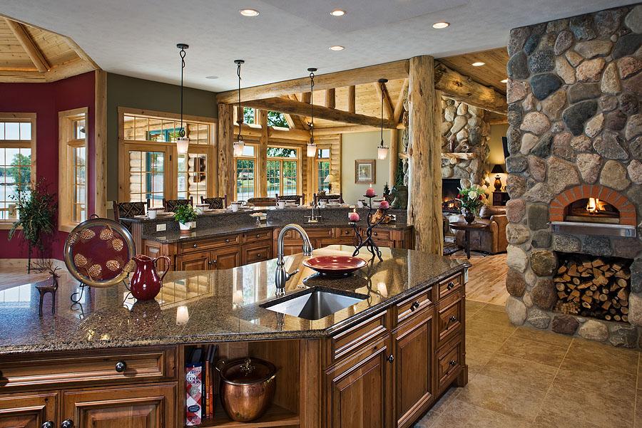 Maison en bois de luxe for Maison en bois de luxe
