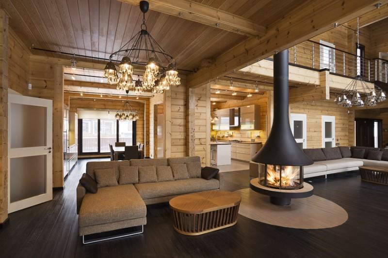 Stunning Interieur Maison Bois Ideas - Matkin.info - matkin.info