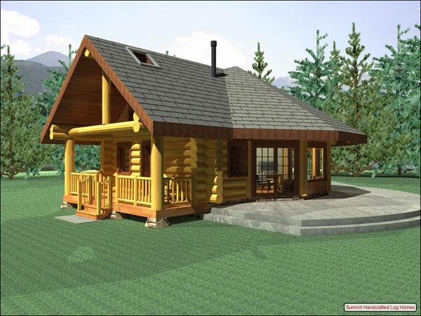 Maison en bois cologique for Inspiration maison