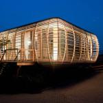 maison en bois écologique