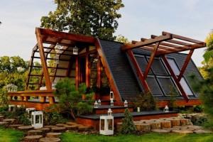 maison en bois passive