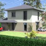 maison individuelle accolée