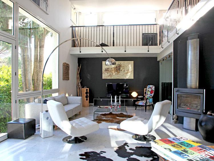 inspiration maison moderne avec mezzanine