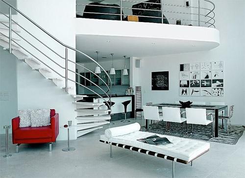 Maison avec mezzanine moderne - Bricolage Maison et décoration