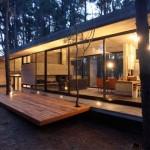 maison moderne foret