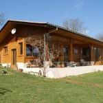 maison plain pied en bois