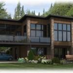 photo de maison et plan