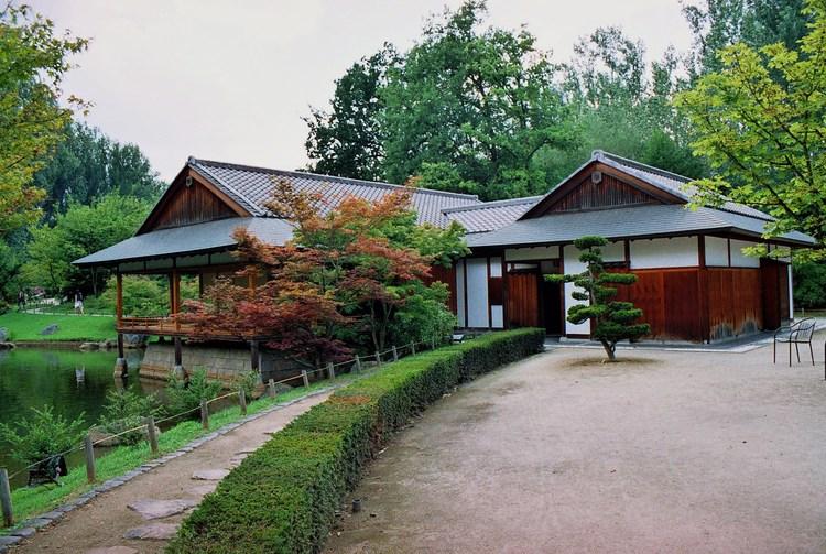 photo de maison japonaise traditionnelle. Black Bedroom Furniture Sets. Home Design Ideas