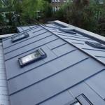 photo de maison toiture zinc