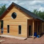 chalet bois à construire