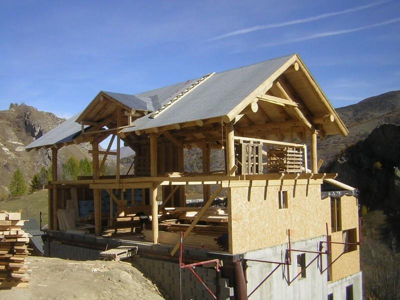 Chalet bois construire for Constructeur de chalet en bois