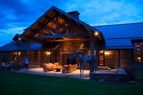 Chalet En Bois Rondin En Kit : Beautiful Montana Ranches