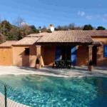 image maison avec piscine