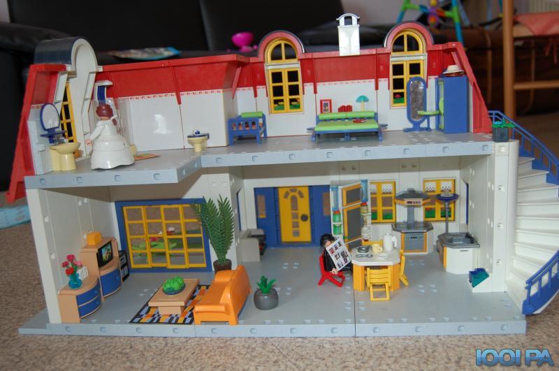 Maison playmobil - Piscine moderne playmobil ...