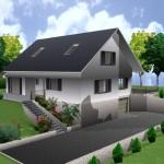 maison architecte 3d